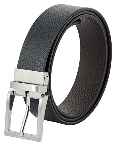 Mens Reversible Belt Genuine Leather Belt 109