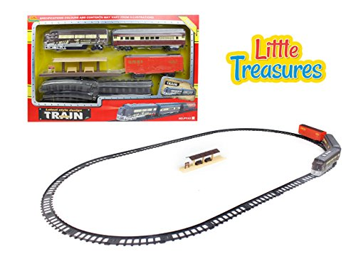 (Train Series - A Game Putting Joyful Emphasis on The Working of Trains; Featured with Light and Sound Effects, The Toy Offers a Fascinating Experience as Well as steams The Kids up of Many Ages!)