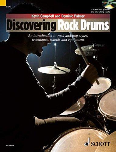 DISCOVERING ROCK DRUMS BK/CD