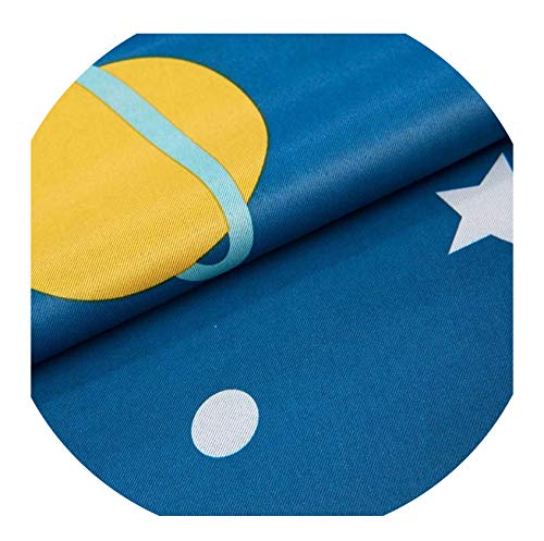 - Cartoon Moon Blackout Curtains for Kids Room Children Curtains for Children Bedroom Living Room Window Curtain for Child,02,W 150cm x H 220cm,Rod Pockets