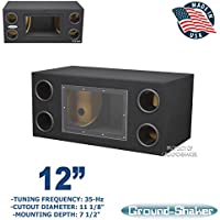 12 Bandpass / 12 Ported tube subwoofer enclosure