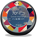 MightySkins Skin for Amazon Echo Spot - Bright and Happy | Protective, Durable, and Unique Vinyl Decal wrap Cover | Easy to Apply, Remove, and Change Styles | Made in The USA