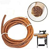 """WellieSTR 5PCS 70 Inch Leather Belt Cowhide Belting For Treadle Sewing Machine 3/16"""" (5mm)"""