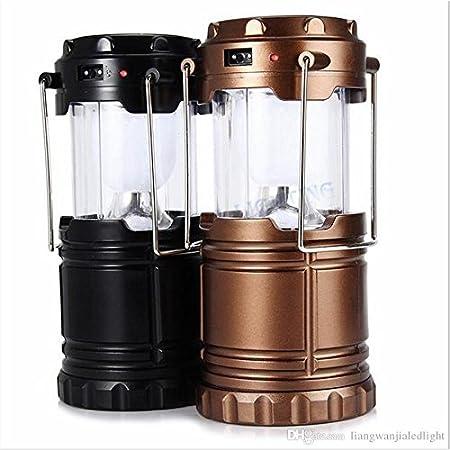 Velkro LED Solar Emergency Light Lantern + USB Mobile Charging+Torch Point, 2 Power Source Solar