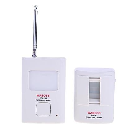 AnySell - Timbre inalámbrico con Sensor de Movimiento por Infrarrojos para Puerta antirrobo