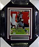 Eddie Lacy Autographed Photo - Framed 8x10 - PSA/DNA Certified - Autographed College Photos