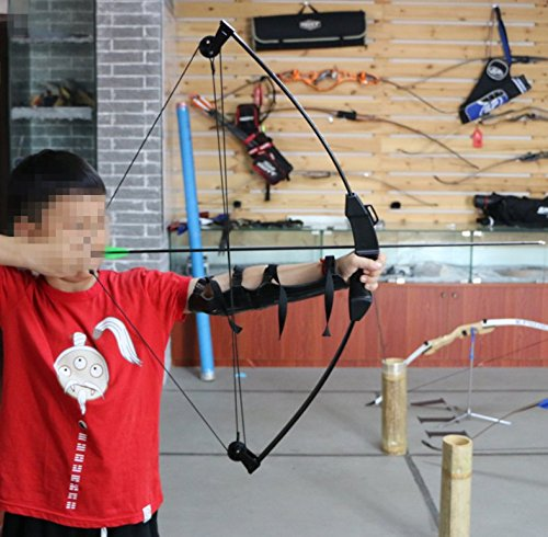 FlyArchery 35'' Kid Compound Bow and Arrow Archery Set With 4 Arrows For Youth Junior Kid Children Hunting Toy by FlyArchery (Image #9)