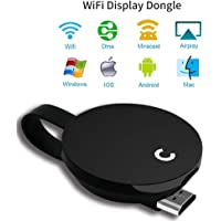 Yehua WiFi Display Dongle 1080 HDMI Dongle Wireless Video Casting Transmitter Receiver Share Media from iPhone iPad Samsung Andorid Smart Devices to TV Monitor or Projector Support Miracast Airplay Yehua