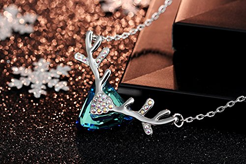 IUHA Elegant Oka Necklace made with Swarovski Crystal For Women Love Gift by IUHA (Image #5)