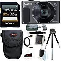 Canon PowerShot SX620 HS Digital Camera (Black) with 32GB Deluxe Bundle Advantages Review Image