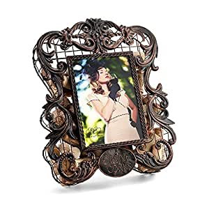 Epic Products Cork Cage Photo Frame, 12.5-Inch