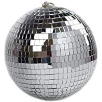"""8"""" Mirror Disco Ball Great for a Party or Dj Light Effect Christmas"""