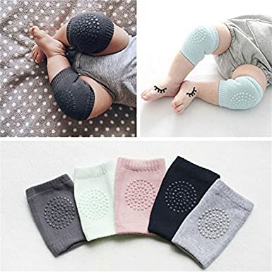 New Safety Pair Infant Toddler Baby Knee Pad Crawling Safety Protector Crawling Protective Knee//Elbow Pads for Toddler Baby Infant Kids