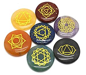 Healing Crystals India Polished Engraved Stones Health Care Products