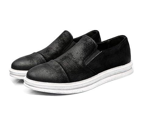 Hombres Bomba Mocasines Ronda Toe Banda Elástica Casual Luz Snekers Placa Zapatos Casuales Zapatos UE Tamaño 38-43: Amazon.es: Deportes y aire libre