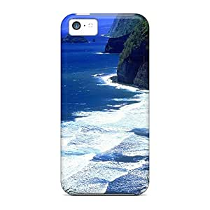 New Arrival Case Cover With IIgBmiU5077CDOwD Design For Iphone 5c- Beach Hawaii