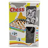 Children's Classic Game Box Includes Chess and Checkers Toy Board Games - Wholesale Toys - Case of 48