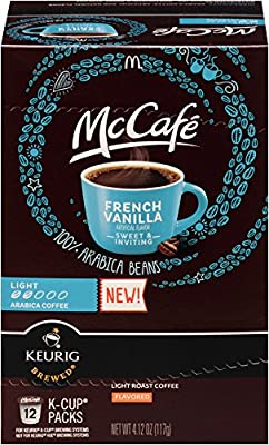 McCafe French Vanilla K Cup Pods, 4.12 Ounce
