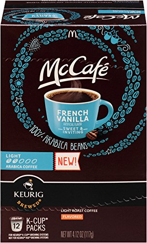 - McCafe French Vanilla K Cup Pods, 4.12 Ounce