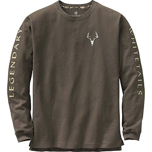 Legendary Whitetails Men's Non-Typical Series Long Sleeve Tee Swamp XX-Large Tall