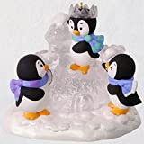 Hallmark Ice Castle Antics Penguins Ornament Keepsake-Ornaments Animals & Nature to Keepsake Christmas Ornament 2018 Year Dated, Penguins Ice Castle Antics