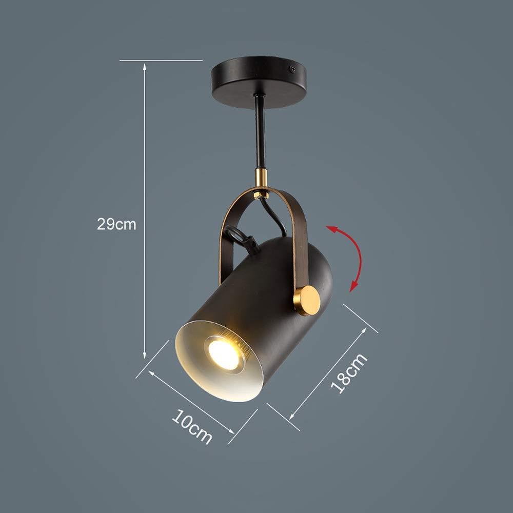 Skingk Loft Light Spot Led Lámpara de Techo Industrial Vintage ...