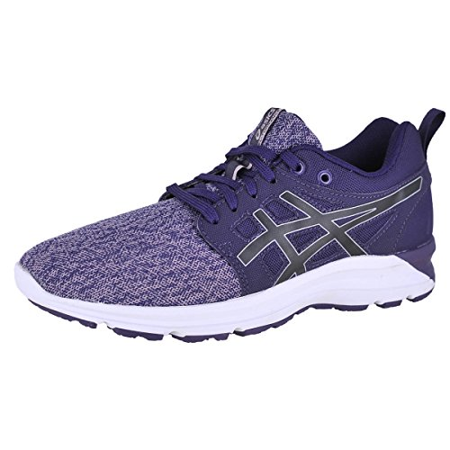 51kRVx6wxHL ASICS Women's Torrance Running-Shoes, Mysterioso/Black/Aluminum, 7.5 Medium US