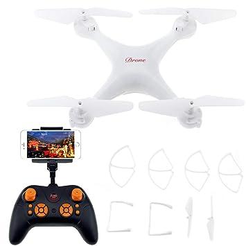 Aviones De Cuatro Ejes Drone En Tiempo Real Fotografía Aérea De ...