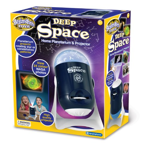 (Brainstorm Toys Deep Space Home Planetarium and Projector)