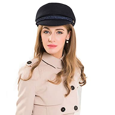 f20c8b11617f Newsboy Beret Hat Fedora 100% Wool Blend Cap Collection Hats Cabbie ...