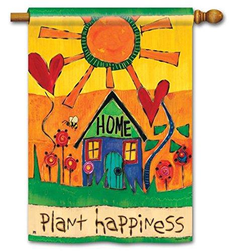 Studio M Plant Happiness DS Std Flag