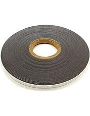 FerroFlex® 12.5 mm breed ijzer strip - 3M zelfklevend & glanzend wit (5 meter lengte)