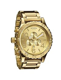 Nixon Men's 51-30 Chrono All Gold Watch [Watch] Nixon