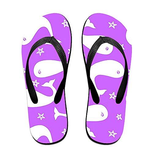 846856b6e27a4 Men s Flip Flops Beach Sandals Lightweight EVA Sole Comfort Whale Slippers  high-quality