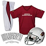 Franklin Sports NFL Arizona Cardinals Youth Licensed Deluxe Uniform Set, Large