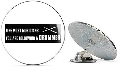 Drums in Circles design Tie