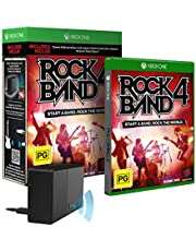 Rock Band 4 with Legacy Game Controller Adapter