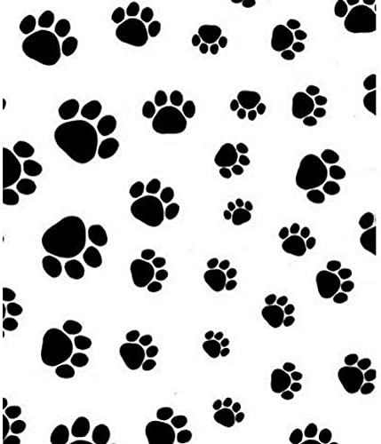 Gift Wrapping Paw Prints Birthdays Packaging 20 x 30 Paw Print Tissue Paper Animal Themed Puppy Prints Party Paper 100/% Recycled
