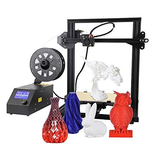 QLPP Impresora 3D DIY, Semi ensamblada, tamaño de impresión 300 X ...