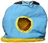 Prevue Pet Products BPV1169 Large Snuggle Sack Bird Nest with 3-1/2-Inch Opening, Colors Vary