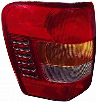 Depo 333-1926L-US Jeep Cherokee Driver Side Replacement Taillight Unit without Bulb