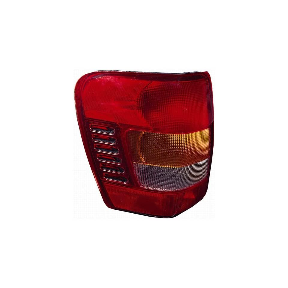 Depo 333 1925L US R Jeep Grand Cherokee Driver Side Replacement Taillight Unit without Bulb