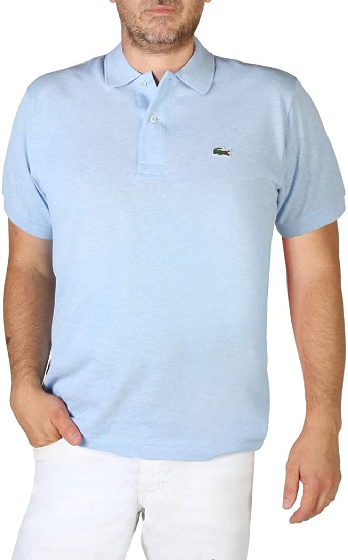 region Ace surface  Lacoste L1264 Uomo Polo Camicia Manica Corta,Uomini Polo,2  Bottoni,Normale,Lutea Chine(9Q9),Small (3): Amazon.it: Abbigliamento