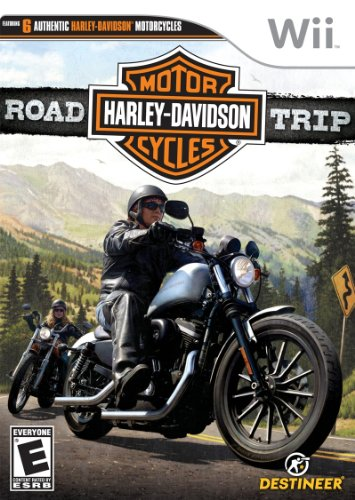 Harley Davidson Road Trip - Nintendo Wii (Game Video Davidson Harley)