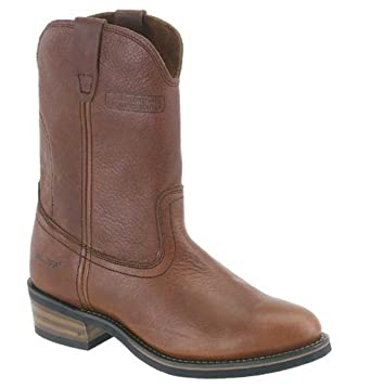 "Men's Classic Western Boot 11"" Ranch Wellington Red Leather 1552"