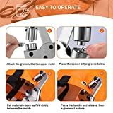BEAMNOVA Grommet Handheld Hole Punch Pliers Grommet