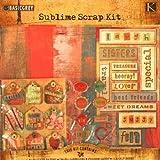 Sublime Scrapbooking Kit 12 x 12 // Basic Grey