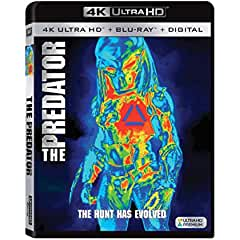 THE PREDATOR arrives on Digital Nov. 27 and on 4K, Blu-ray and DVD Dec. 18 from Fox