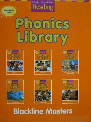 Houghton Mifflin Reading: The Nation's Choice: Phonics Library Blackline Masters Grade 2