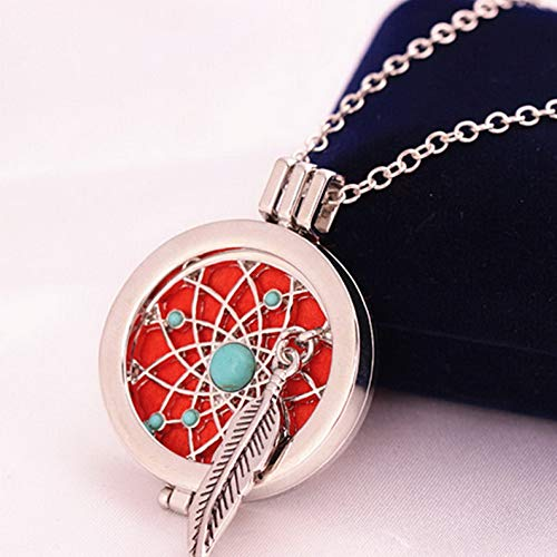 Kaputar Locket Necklace for Perfume Fragrance Diffuser Essential Oil Aromatherap Pendant | Model NCKLCS - 21257 |